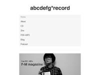 abcdefg*record