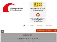 Abfallwirtschaft Hohenlohekreis
