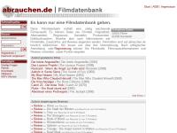 Filmdatenbank Abrauchen.de