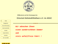 Ortsclub Hettstedt Südharz e.V. im ADAC