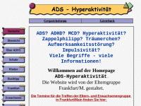 Elterngruppe ADS/H Frankfurt