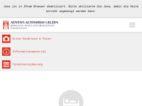 AWW Altenheim Uelzen - Advent Wohlfahrtswerk Norddeutscher Verband e.V.