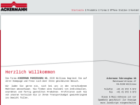 Ackermann Fahrzeugbau AG