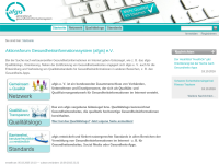 Aktionsforum Gesundheitsinformationssytem