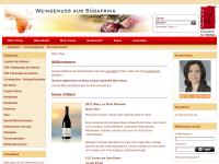 Weingenuss aus Südafrika Kloos & Kloos, Gerhard Kloos