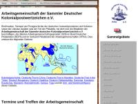 Arbeitsgemeinschaft der Sammler deutscher Kolonialpostwertzeichen