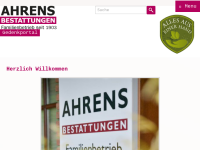 Sigrid Ahrens Bestattungen GmbH