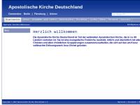 Apostolische Kirche Deutschland (AK)