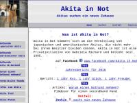 Akita in Not