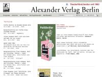 Alexander Verlag Berlin