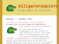 Die Alligatorpapiere
