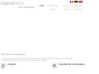 Alphorn Hersteller - Gérald POT