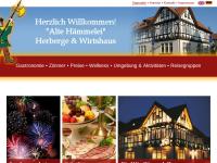 """Herberge und Wirtshaus """"Alte Hämmelei"""""""