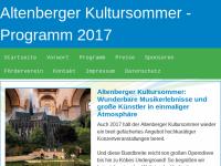 Altenberger Kultursommer