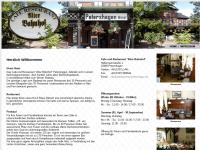 """Cafe und Restaurant """"Alter Bahnhof"""""""