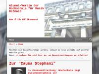Alumni-Verein der Hochschule für Musik Detmold