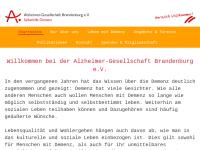 Alzheimer-Gesellschaft Brandenburg e.V.