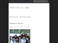 American In Japan