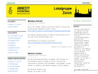 Amnesty International: Zürcher Gruppen