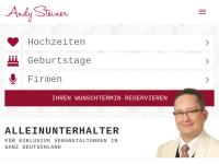 Steiner, Andy - Alleinunterhalter und Musikduo