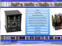 Ralfs Antik Radio Seiten