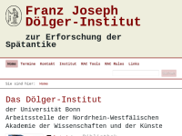 Franz Joseph Doelger Institut zur Erforschung der Spätantike