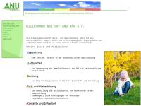 Arbeitsgemeinschaft Natur- und Umweltbildung Landesverband NRW e.V. (ANU NRW)