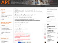 API Akademie für Psychotherapie und Interventionsforschung an der Universität Potsdam GmbH