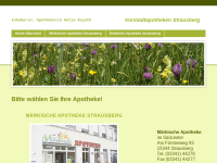 Märkische- und Bahnhofs-Apotheke in Strausberg