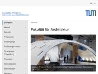 Fakultät für Architektur an der TU München