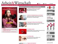 Zeitschrift »Arbeit & Wirtschaft«