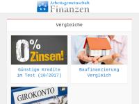 Arbeitsgemeinschaft Finanzen