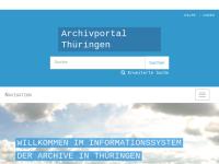 Archivportal Thüringen