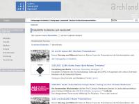 Fakultät für Architektur und Landschaft