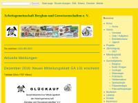 Arbeitsgemeinschaft Bergbau und Geowissenschaften