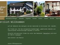 Arnsteiner Hof, Weingut Edmund Scherer