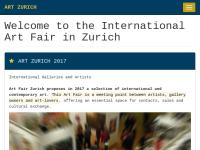 Art International Zurich - Kunstmesse Zürich