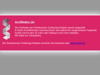 ArztFindex der Ärztekammer Schleswig-Holstein
