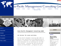 APMC, Asia-Pacific Management Consulting GmbH