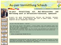 Au-Pair Vermittlung Schaub