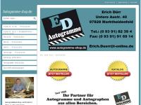 ED Autogramme, Erich Dürr