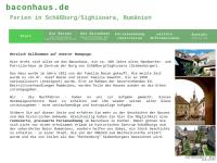 Ferien auf der Burg von Schässburg (Sighisoara)