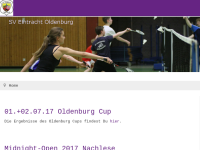 Badminton im SV Eintracht Oldenburg