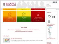 Balance - Verein für chancengleiche Ausbildung und Integration behinderter Menschen e.V.
