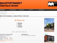 Baustoffmarkt Oderland
