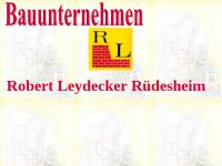 Bauunternehmen Leydecker