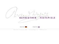 Bayreuth, Richard-Wagner-Festspiele