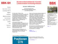 Bundesverband Bildender Künstler, Landesverband Schleswig-Holstein