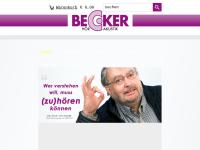 Becker Hörakustik