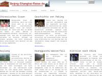 Beijing-Shanghai-Reise Michael Beer